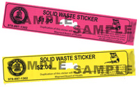 Trash Stickers